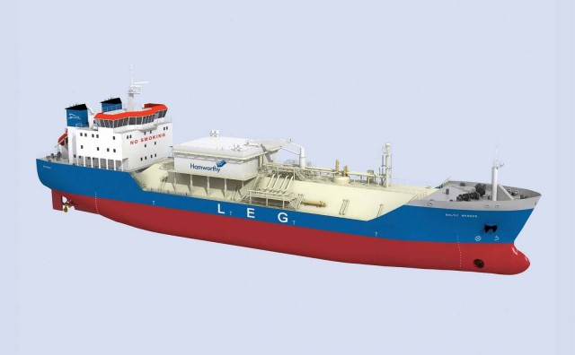 Hamworthy secures further ethylene carrier work in China