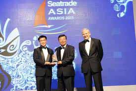 ClassNK takes two at Seatrade Asia awards 2012
