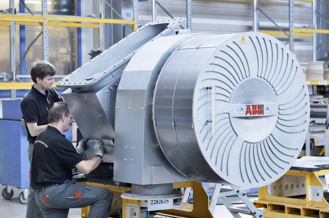 ABB Turbocharging boosts fuel efficiency on smaller ships