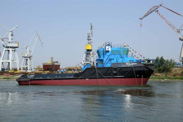 First Smit Lamnalco branded tug launched