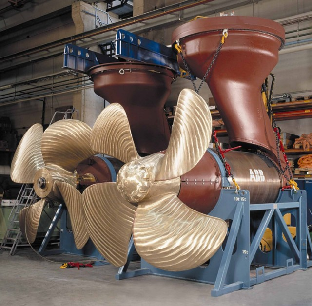 ABB provides energy efficient Azipod® propulsion for wind turbine installation vessels in Singapore