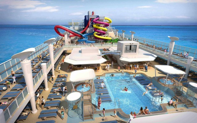 Bolidt flooring is selected for Norwegian Breakaway