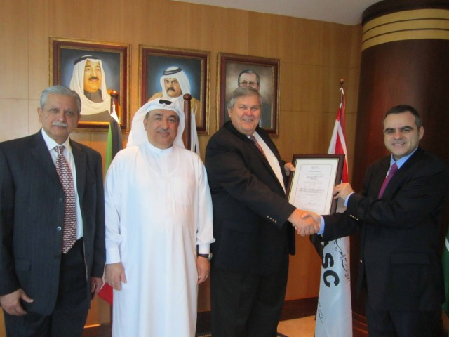 Lloyd's Register provides first ISO 50001 certification in the Middle East