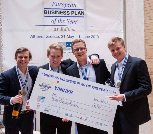 "Oλοκληρώθηκε ο φοιτητικός διαγωνισμός ""European Business Plan of The Year Competition"""