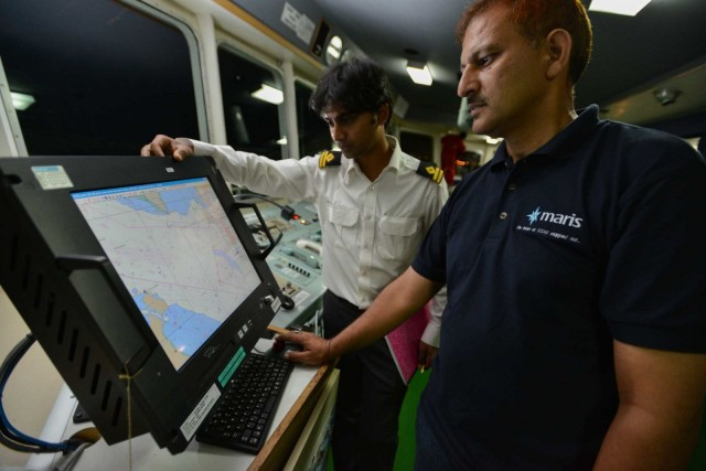 Cornes partnership with MARIS reaps first ECDIS reward