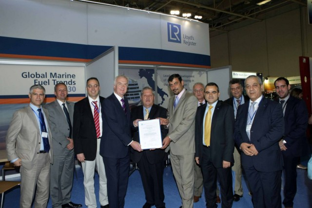 Tsakos Columbia Shipmanagement (TCM) S.A. achieves ISO 50001 certification by Lloyd's Register