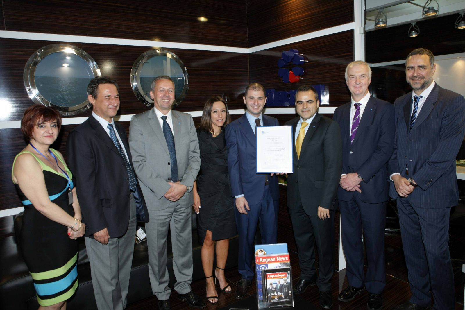 Aegean shipping management awarded business continuity aegean shipping management awarded business continuity certification by lloyds register xflitez Choice Image