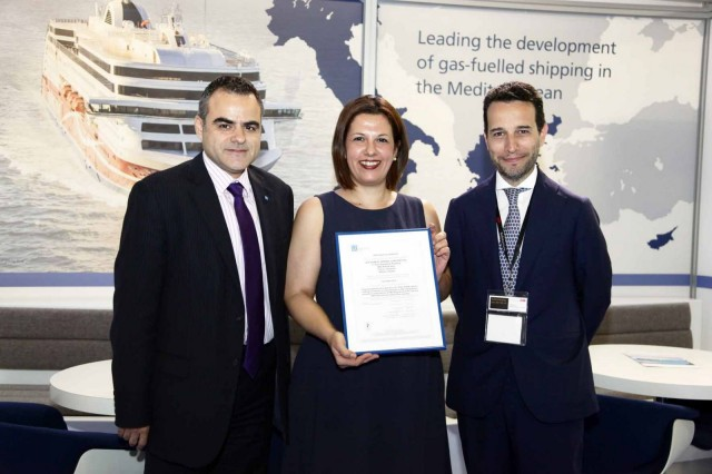 Sea Pioneer Shipping Corporation receives the Energy Management System certification ISO 50001 awarded by Lloyd's Register