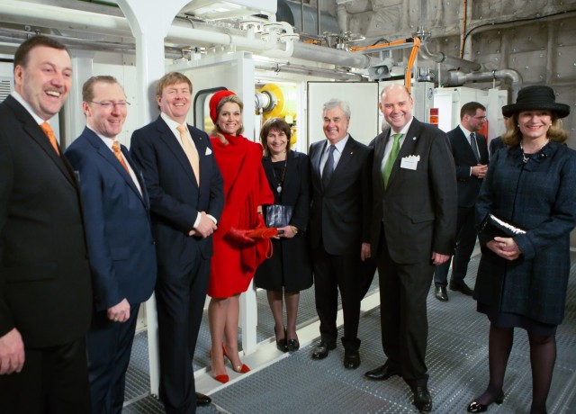 Dutch Royal Couple Guests of Becker Marine Systems