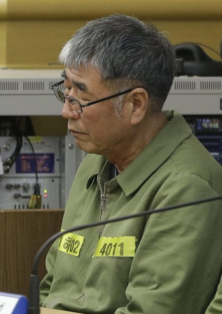 South Korea Sewol Ferry Trial