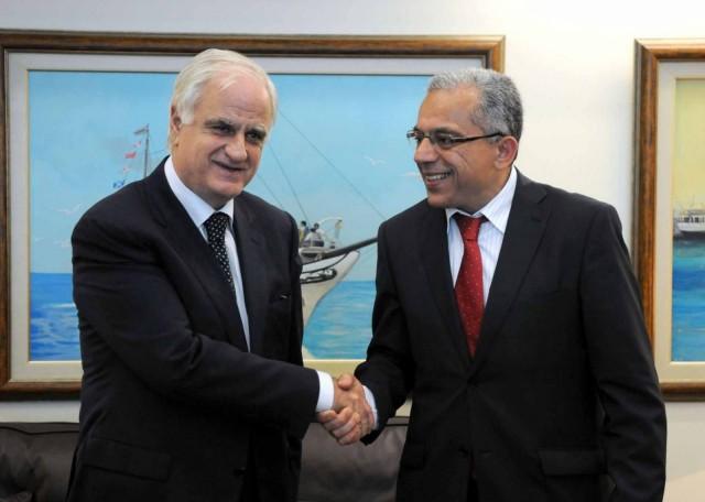 Συνάντηση ΥΘΥΝΑΛ με τον υπουργό Εξωτερικού Εμπορίου του Μαρόκου