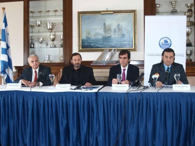 Ο Απ. Βεντούρης εξελέγη εκ νέου πρόεδρος της ΕΕΝ