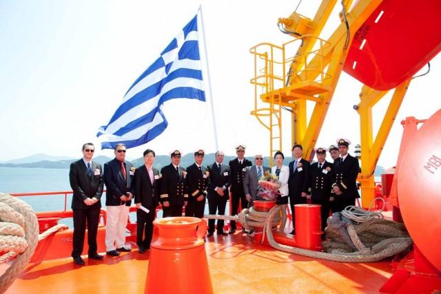 Νέα παραλαβή για την AEGEAN BULK CO. INC.