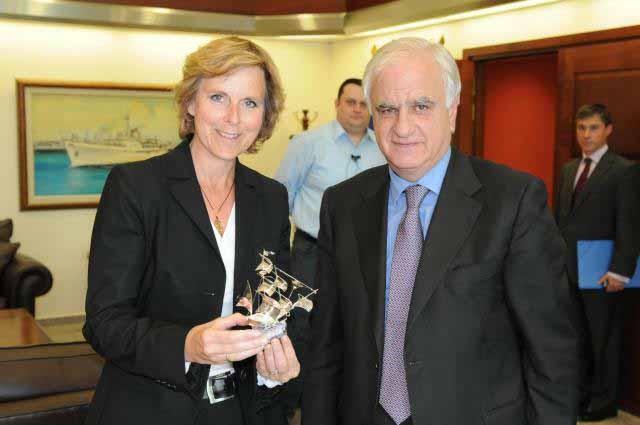 Η επίσκεψη της Επιτρόπου Connie Hedegaard