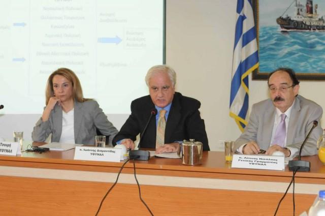 Σύσκεψη στο ΥΘΥΝΑΛ με τους Περιφερειάρχες για αναπτυξιακές δράσεις