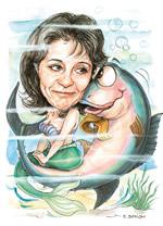 Συνάντηση της Μαρίας Δαμανάκη με τους Οικολόγους-Πράσινους