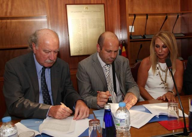 Συμφωνία συνεργασίας M.S.C.και Ο.Λ.Π.