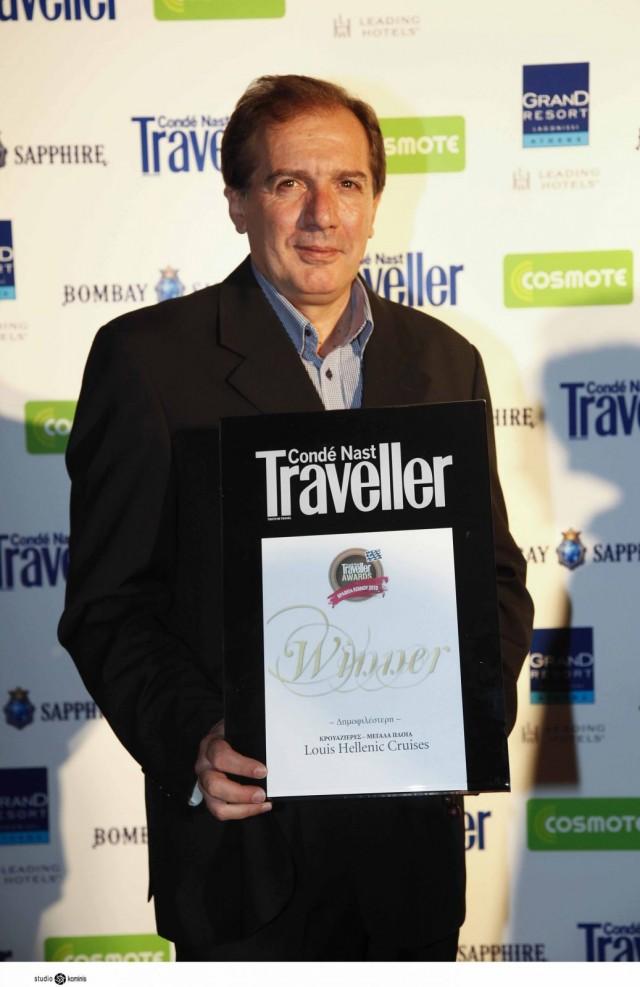 Η Louis Hellenic Cruises αναδεικνύεται ως η δημοφιλέστερη εταιρεία κρουαζιέρας