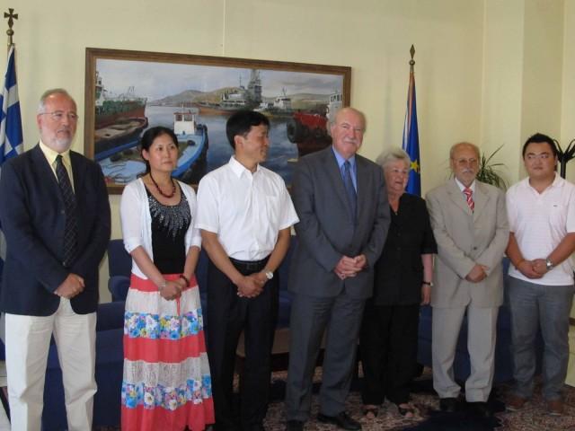 Συνάντηση για τη σύναψη διεθνών τουριστικών σχέσεων