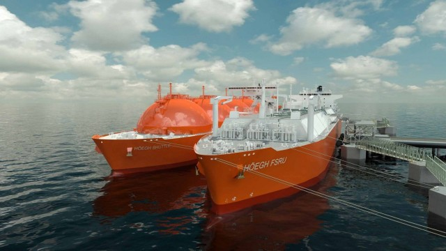 Hamworthy wins world's first newbuild FSRU regas orders