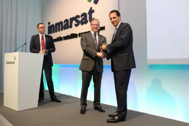 Navarino wins the award for 1 FleetBroadband provider in 2011