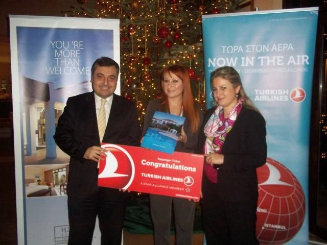 Χριστούγεννα με Turkish Airlines και Grand Hyatt Istanbul
