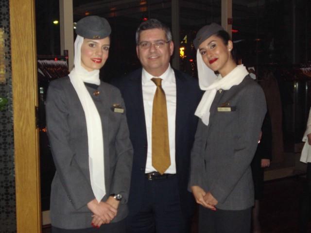 H Etihad Airways βραβεύει τους συνεργάτες της