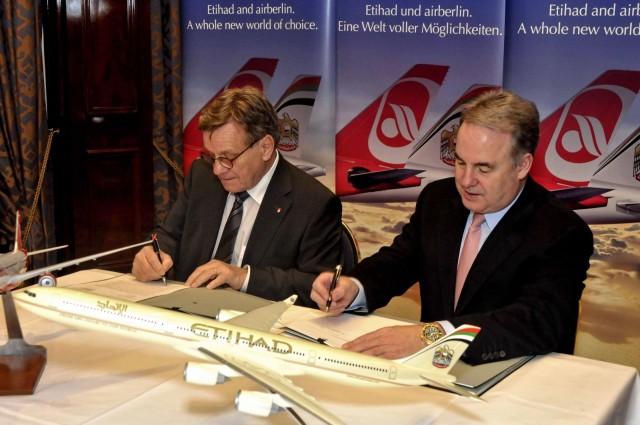 H Etihad Airways γίνεται ο μεγαλύτερος μεμονωμένος μέτοχος της Airberlin