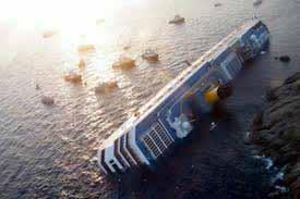 Σταμάτησαν οι επιχειρήσεις διάσωσης στο Ιταλικό κρουαζιερόπλοιο