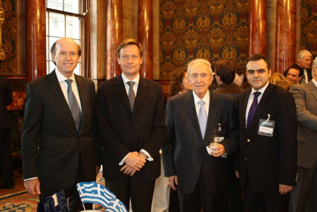 Celebration of the Hellenic New Year at 71 Fenchurch Street