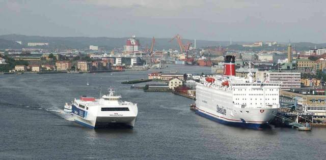 Το πρόγραμμα Fuel Switch στο λιμάνι του Gothenburg αναπτύσσεται