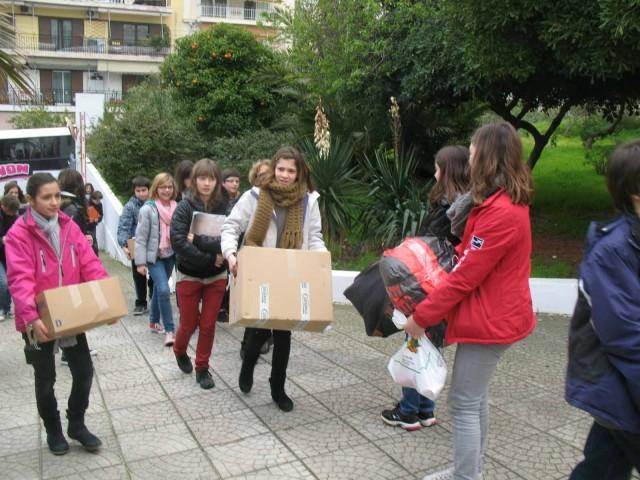 Επίσκεψη Γάλλων μαθητών στο Χατζηκυριάκειο Ίδρυμα Παιδικής Προστασίας