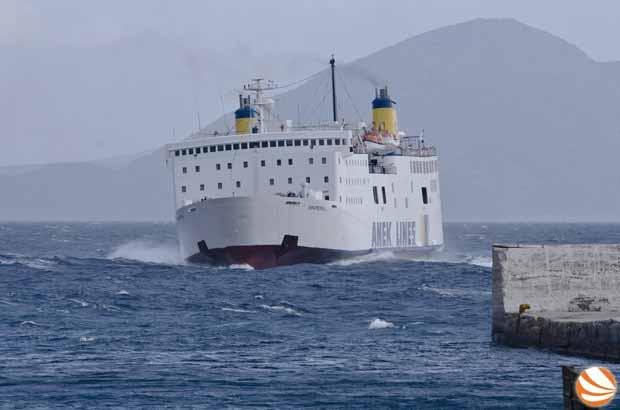 Πρόσκρουση Ε/Γ – Ο/Γ «ΙΕΡΑΠΕΤΡΑ Λ» στο λιμάνι Αγίου Κήρυκου