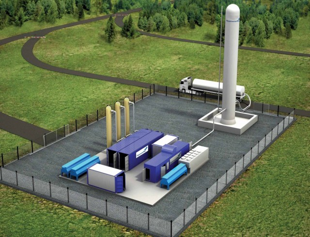 Hamworthy lands breakthrough liquefaction contract for biogas plant