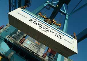 Κέρδη ρεκόρ για την APM Terminals το 2011