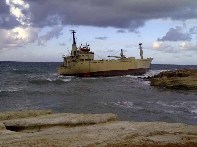 Προσάραξη δεξαμενόπλοιου στη Θεσσαλονίκη