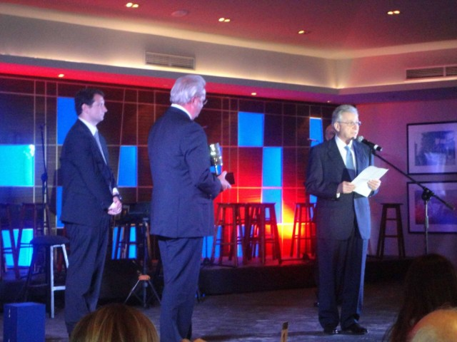 Το βραβείο του Ευρωπαϊκού ιδρύματος Φιλοξενίας στον πρόεδρο του ομίλου LOUIS