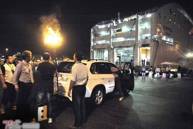 Η ΑΝΕΚ LINES ταξίδεψε την Ολυμπιακή Φλόγα