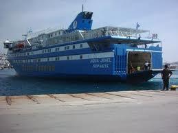 Πρόσκρουση Ε/Γ – Ο/Γ «AQUA JEWEL» στο λιμάνι της Καβάλας