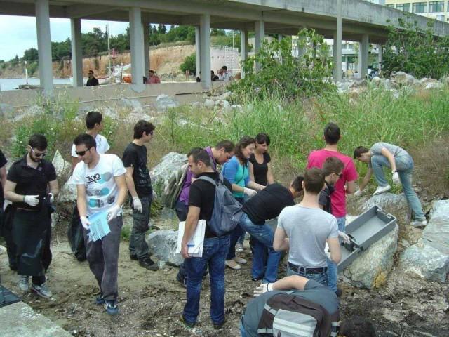 Εκστρατεία των σπουδαστών της ΑΕΝ Μακεδονίας