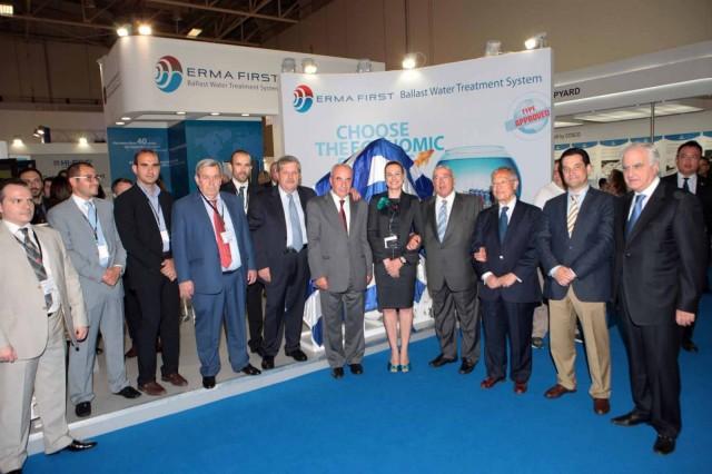 To πρώτο ελληνικό σύστημα επεξεργασίας θαλασσίου έρματος