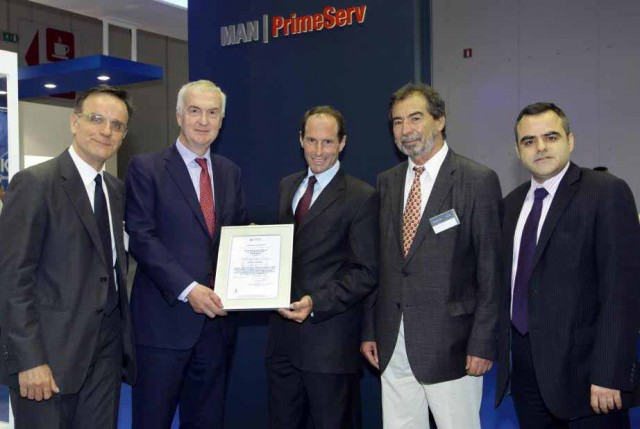 MAN Diesel & Turbo Hellas Awarded ISO Certification