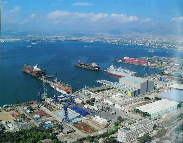 Η έκκληση της ΓΣΕΕ για τη ναυπηγική βιομηχανία