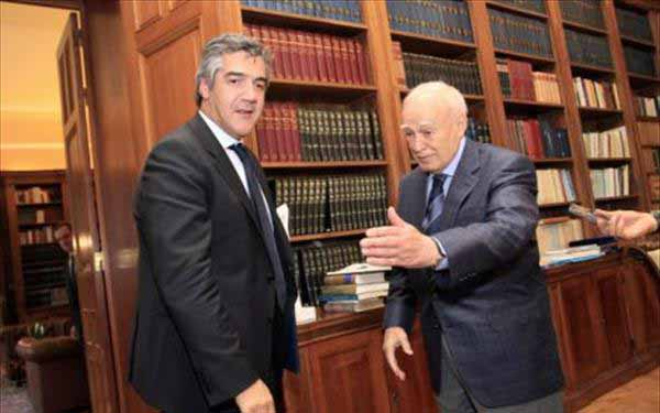 Συνάντηση του Προέδρου της Δημοκρατίας με τον υπουργό Ναυτιλίας