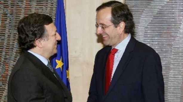 Συνάντηση José Manuel Barroso με τον Πρωθυπουργό Αντώνη Σαμαρά