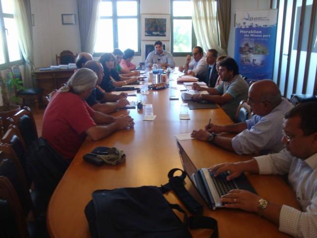 Συνάντηση με στόχο τη βιώσιμη διαχείριση των λιμένων
