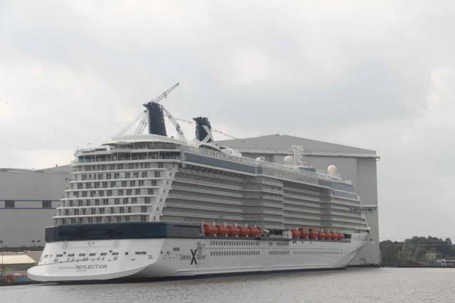 Παρθενική εμφάνιση του Reflection της Celebrity Cruises