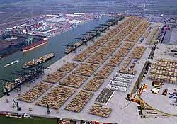Μείωση στην διακίνηση εμπορευματοκιβωτίων στη Βαρκελώνη