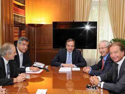 2η συνάντηση Πρωθυπουργού με ΕΕΕ