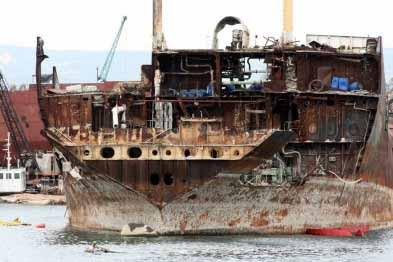 Πτώση της δραστηριότητας και των τιμών στις διαλύσεις πλοίων